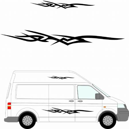 (No.135) MOTORHOME GRAPHICS STICKERS DECALS CAMPER VAN CARAVAN UNIVERSAL FITTING